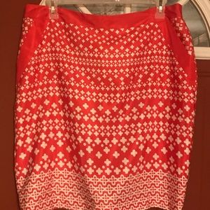 Skirt Jacquline Smith Sz.18  Cool fabric. Lined.
